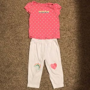 🎉5 for $25🎉 Carter's heart outfit